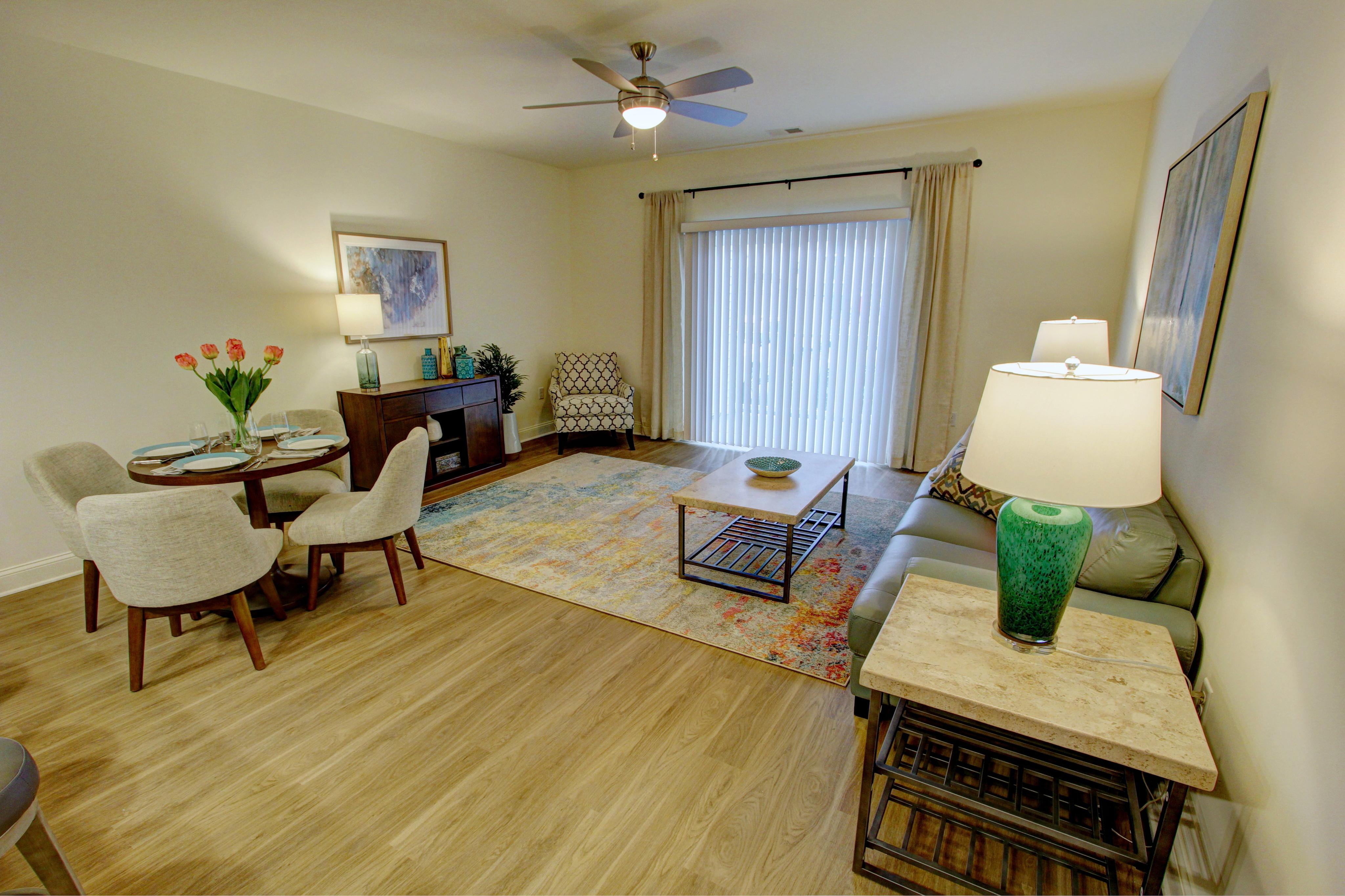 Saratoga apartments