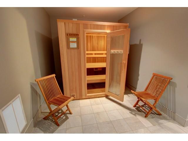 Carlton Hollow Apartments, interior, sauna