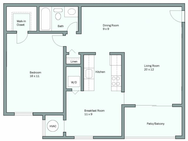 Luxury Apartment Floor Plans In Md Lerner University Square