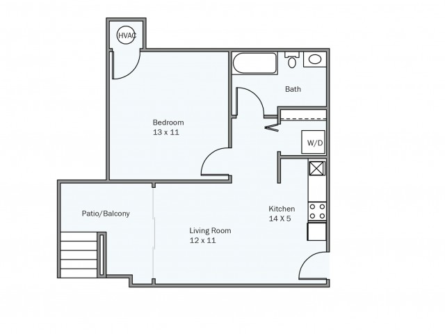 Luxury apartment floor plans in md lerner university square for 2 bedroom flat plan drawing