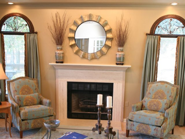 Image of Wood burning fireplaces with mantels for Maison Bocage Apartments
