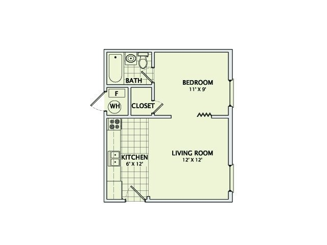 The Pebble Floorplan