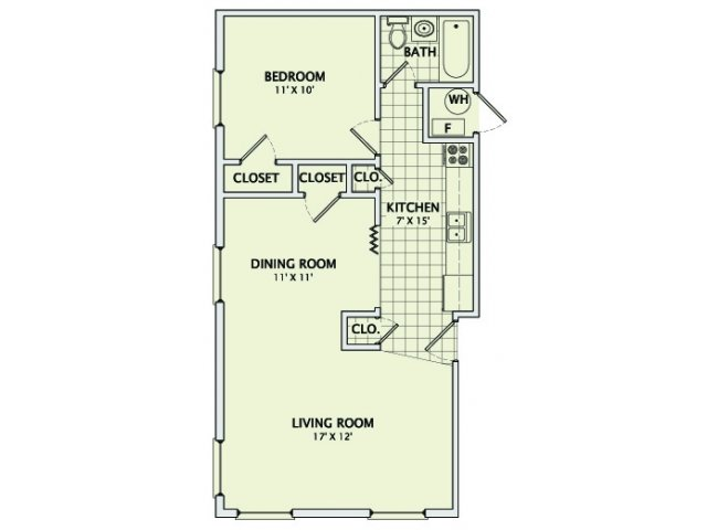 The Stone Floorplan
