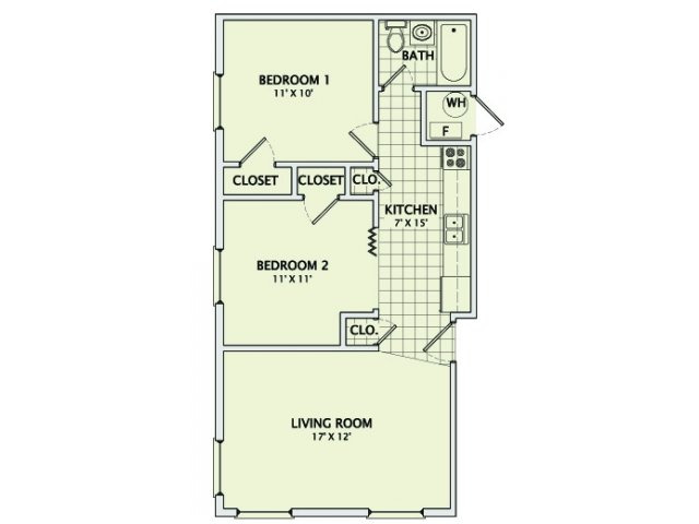 The Boulder Floorplan