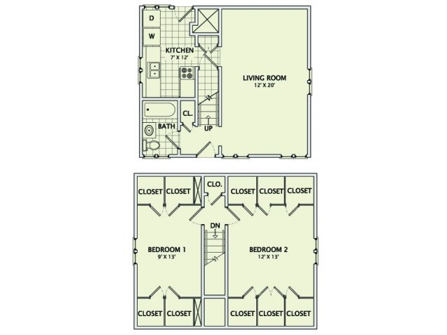 308 1/2 Prairie Floorplan