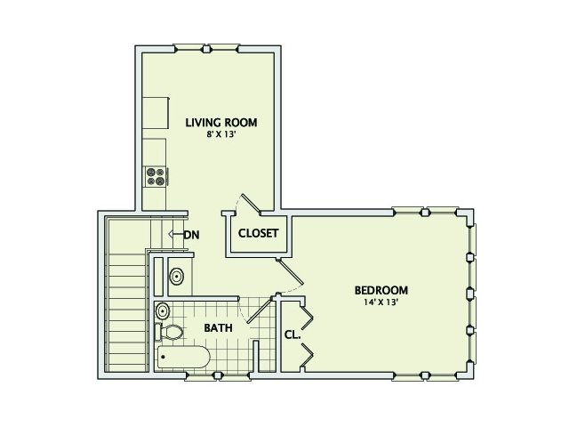 306 Prairie #2 Floorplan