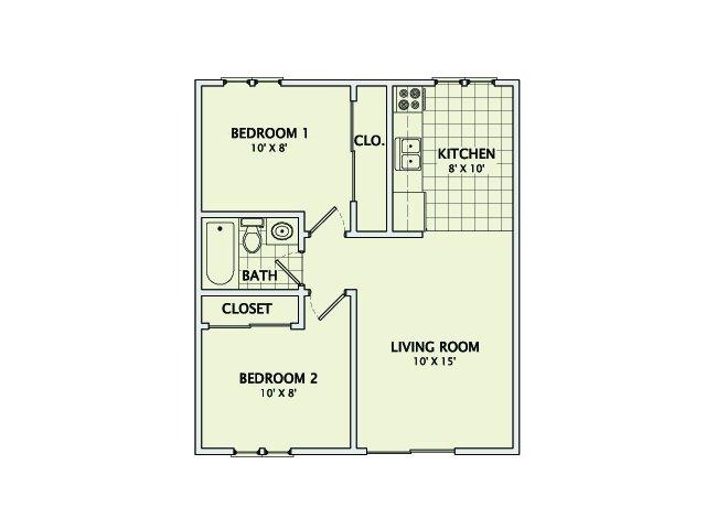 The Heather Floorplan