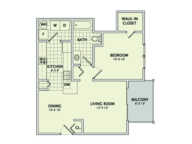 The Diamond Floorplan