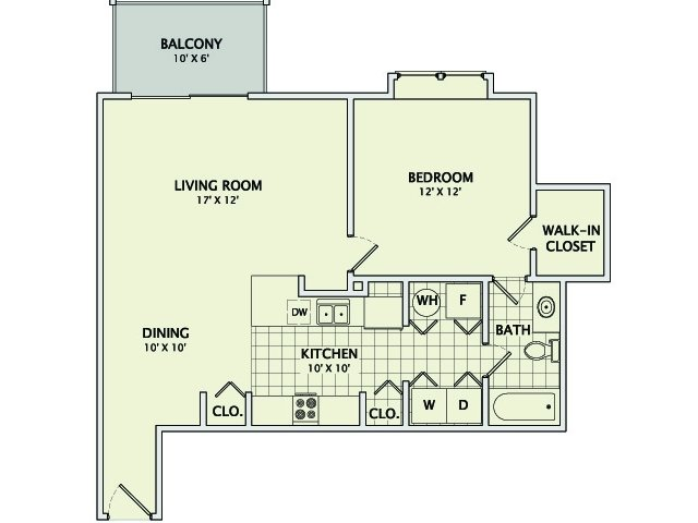 The Emerald Floorplan