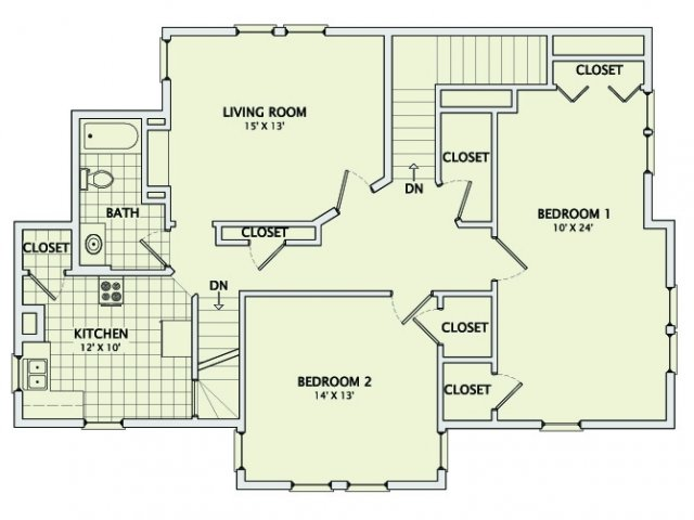 The Vintage Floorplan