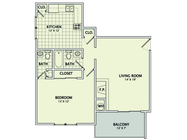 The Onyx Floorplan