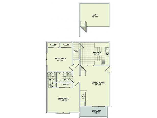 The Granite Loft Floorplan
