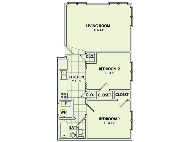 The Baxter Floorplan