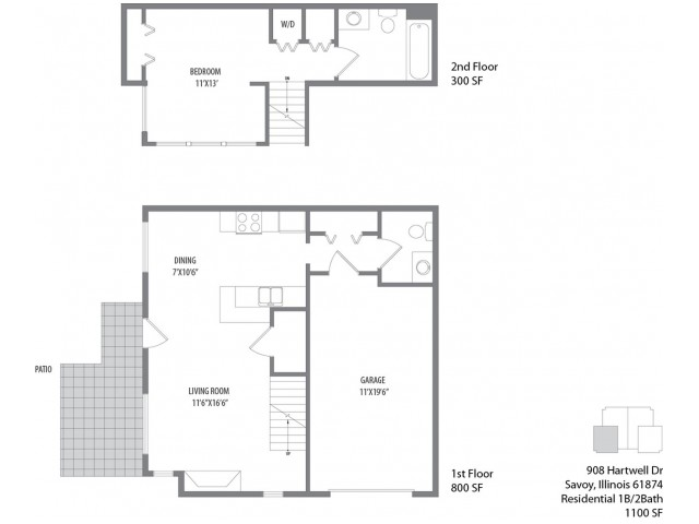 The Palmer Floorplan