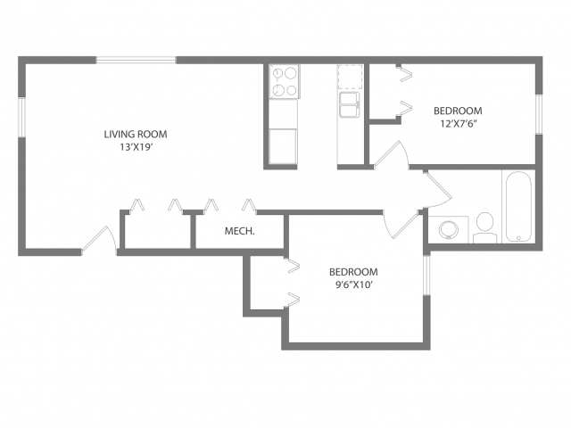 The Fitzgerald Floorplan