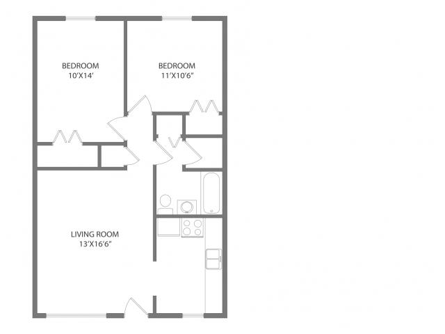 The Frederick Floorplan