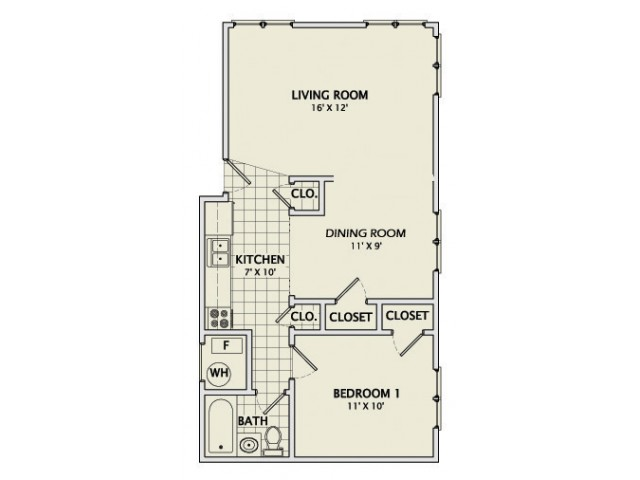 The Corningstone Floorplan