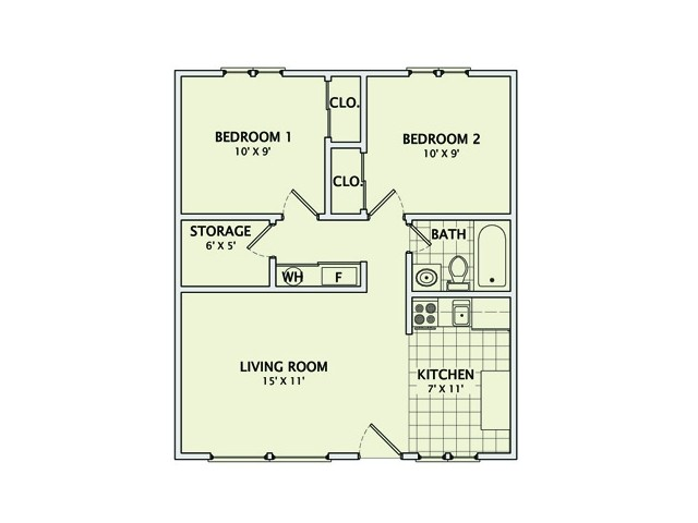 The Lodge - Remodeled Floorplan