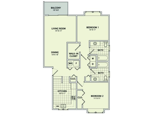 The Marquise - Remodeled Floorplan