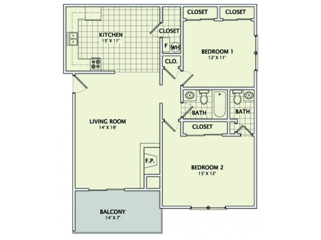 The Granite - Remodeled Floorplan