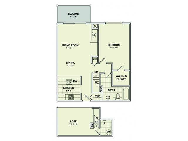 The Cypress - Remodeled Floorplan