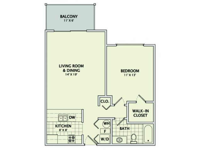 The Birch - Remodeled Floorplan