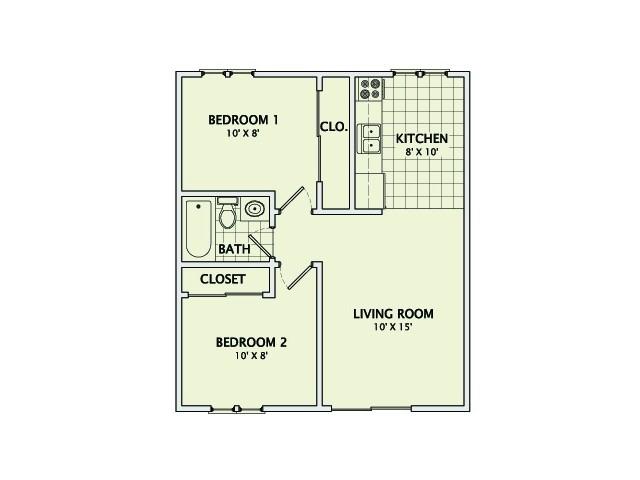 The Heather Remodeled Floorplan