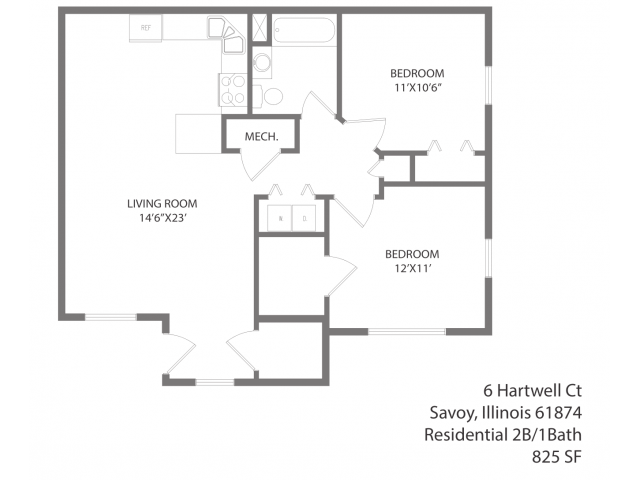 The Stricker Floorplan