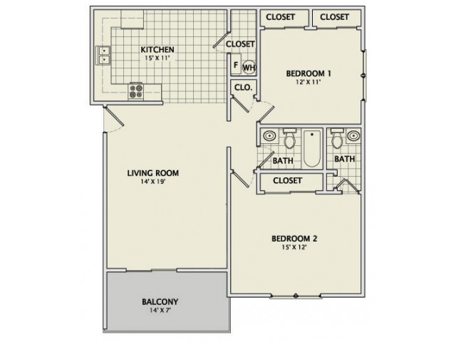 "The Granite ""T\"" Remodeled Floorplan"