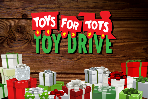 Toys for Tots Toy Drive + Rent Raffle-image