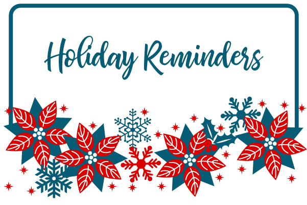 Holiday Reminders-image