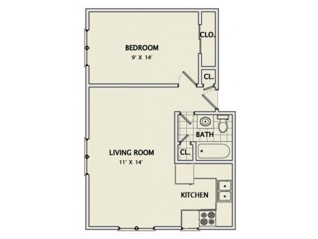 The Grange Remodeled Floorplan