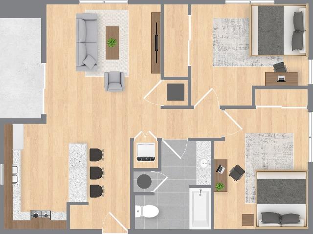 The Chaz Floorplan