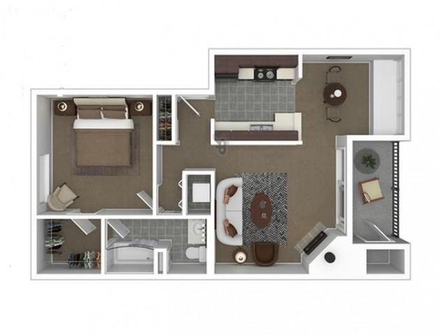 Beautiful 1 Bedroom Home