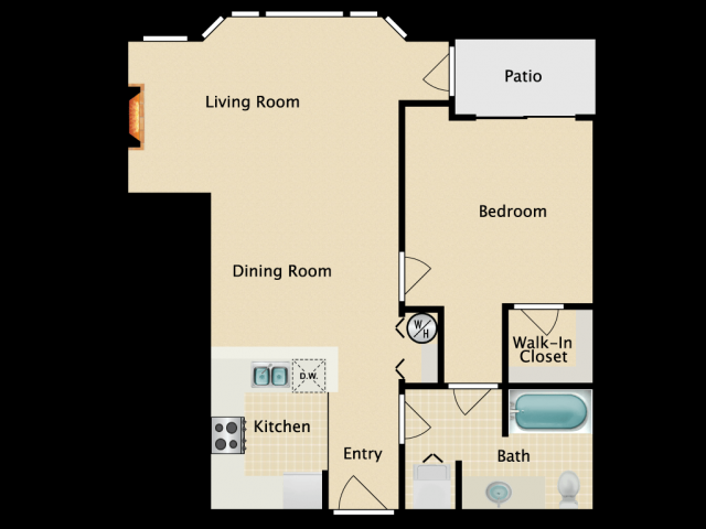 One bedroom One bath, A