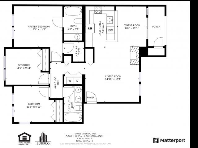 Large three bedroom
