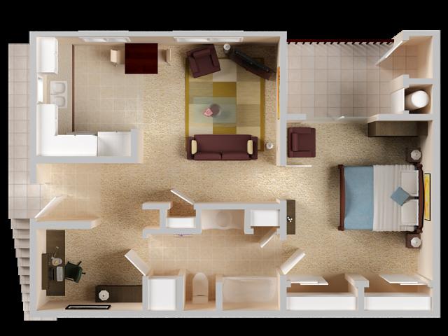 One Bedroom Apartment in El Dorado Hills