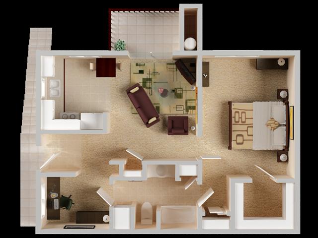 One Bedroom Apartments in El Dorado Hills