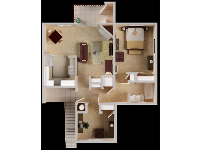 Two bedroom Apartments in El Dorado Hills