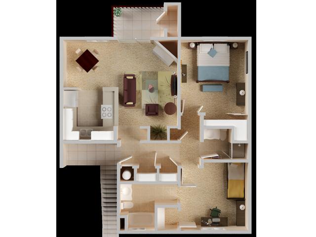 2 Bedroom Apartments in El Dorado Hills | Sterling Ranch