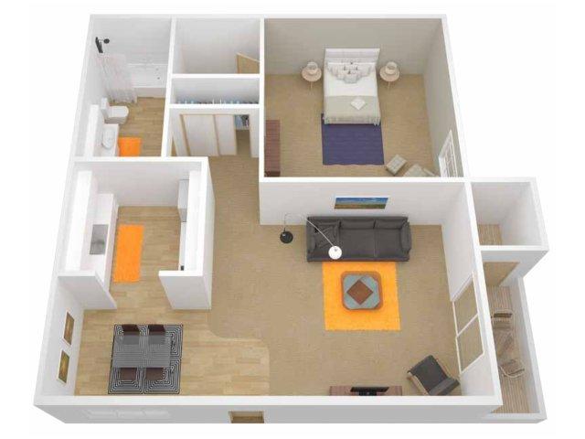 1 Bedroom Apartments In Davis Ca Impressive 1 Bed  1 Bath Apartment In Davis Ca  The Grove Design Decoration