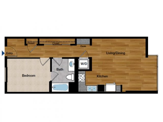 One Bedroom Apartments in Oakland, CA l Domain Oakland Apartments