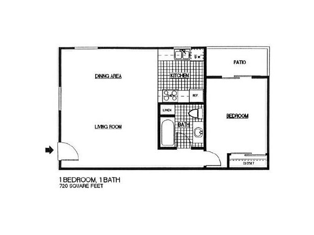 One Bedroom Apartments in Vista l Taylor Brooke Apartment Homes