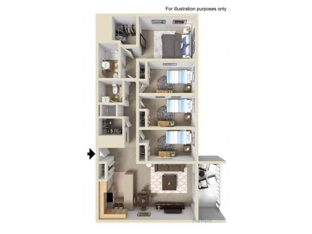 Four Bedroom Apartments in Alameda | Summer House
