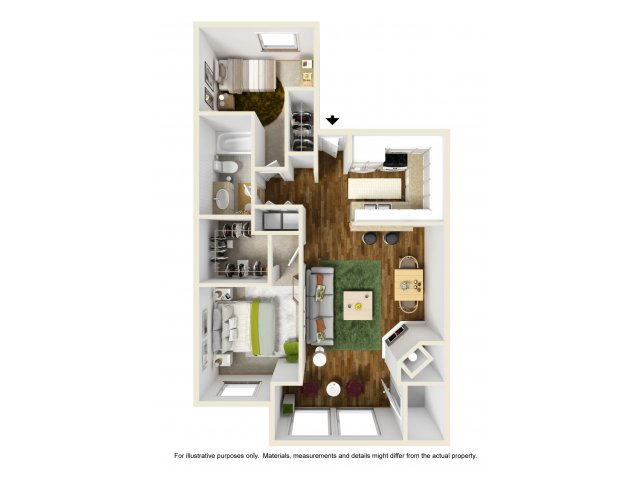 One Bedroom Apartments in Kent, WA | Indigo Springs