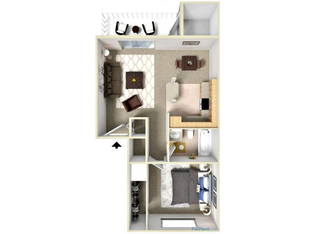 One Bedroom Apartments atFairwood Apartments l Apartments in Coeur D\'Alene, ID
