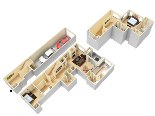 Two Bedroom Apartments for rent Sparks NVl Caviata at Kiley Ranch Apartments