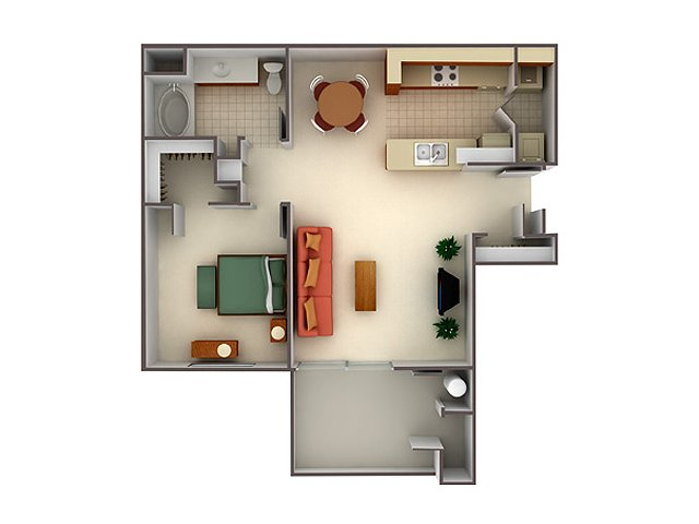 One Bedroom Apartments in Elk Grove, CA | Lake Point Apartments