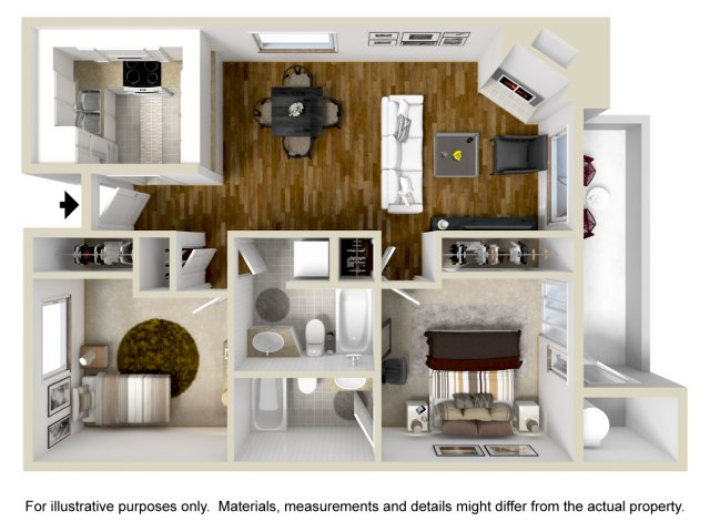 TwoBedroom Apartments in Vallejo | Bay Village