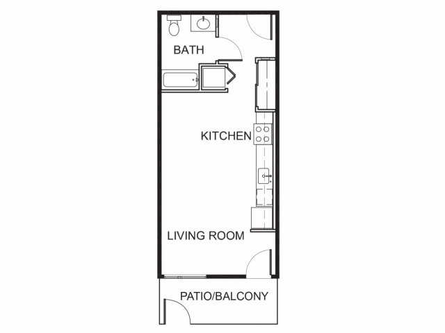 Brand New Studio Apartments for Rent | Mason at Hive Apartments in Oakland, CA Now Leasing